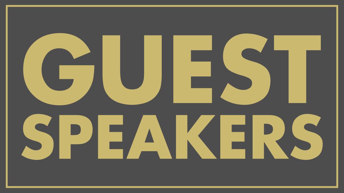 Series: <span>Guest Speaker</span>