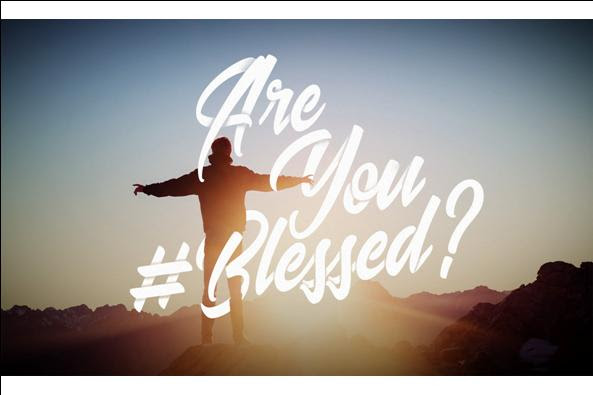 Series: <span>Are You #Blessed?</span>